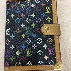 Louis Vuitton notebook / address book with a pen
